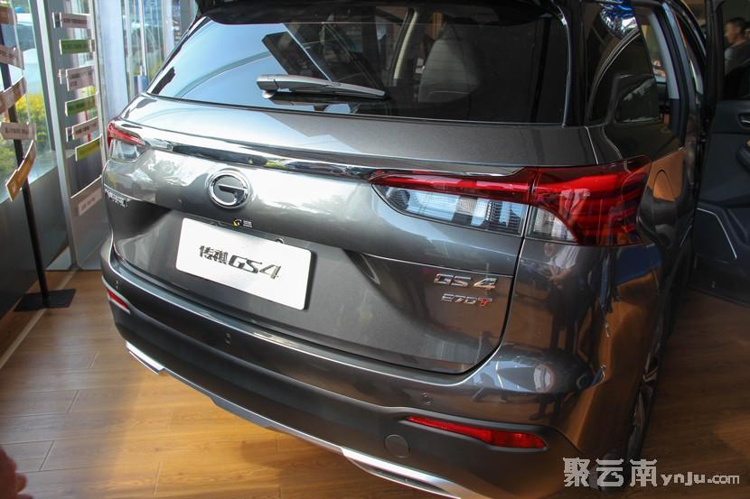 第二代广汽传祺GS4红河上市 聚云南房产汽车网 红河汽车网 蒙自汽车网