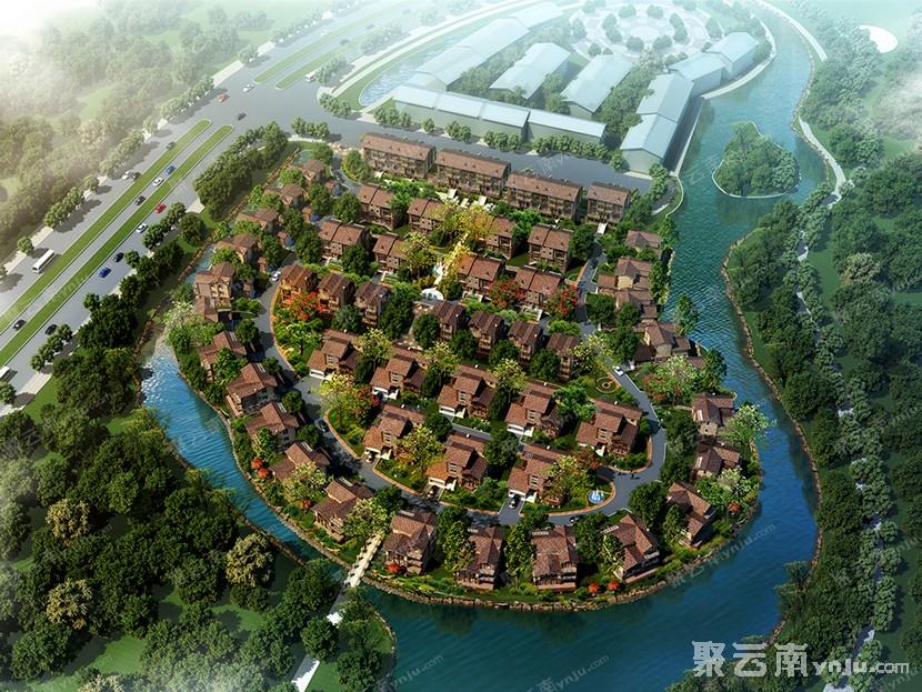 红河州高端别墅现房在售 泸西锦辉·悦湖郡样板房赏析