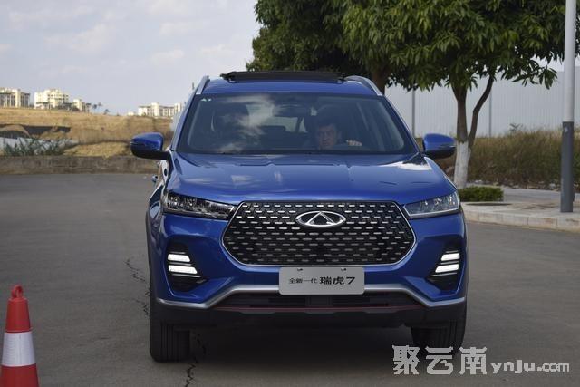 奇瑞瑞虎7试驾 聚云南房产汽车网 红河汽车网 蒙自汽车网