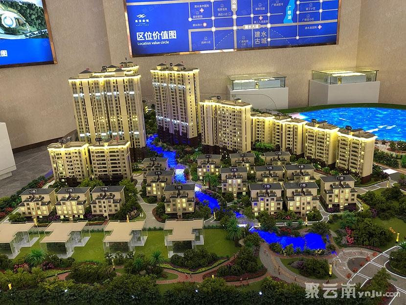 建水惠景康城二期•观湖国际VIP卡办理中