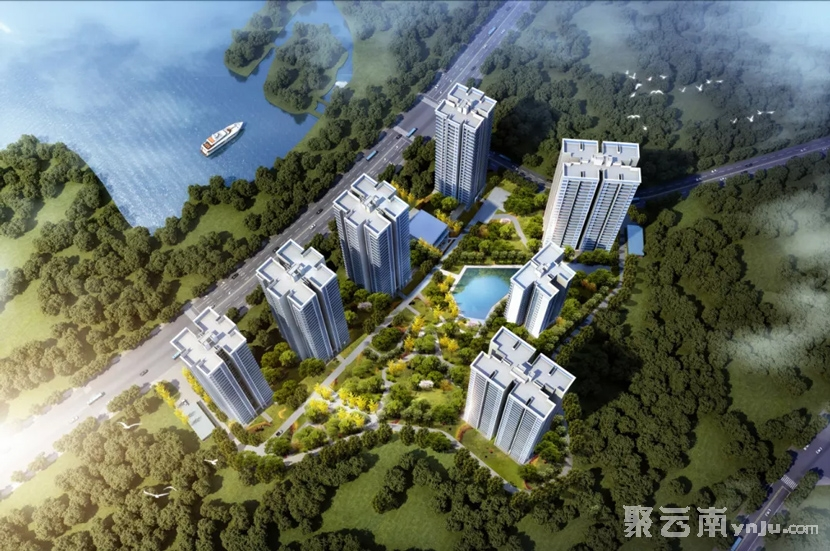 弥勒市水乡新苑项目效果图 聚云南房产网红河站 弥勒房产网