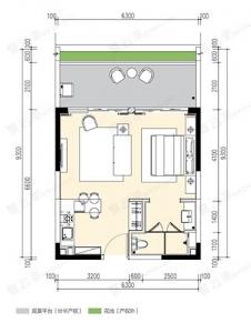 山海旅假空间A5户型-61